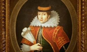 Pocahontas, after 1616, Oil on canvas by Unidentified Artist.