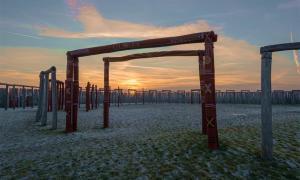 The German Stonehenge at sunset in Pömmelte.       Source: Mattis Kaminer / Adobe stock