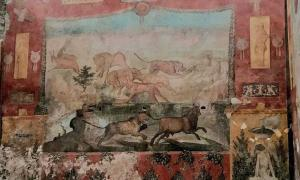 Wow! Stunning Pompeii Hunting Fresco Refreshed By Lasers