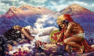 Popocatepetl and Iztaccihuatl: A Tragic Romance of Aztec Legend