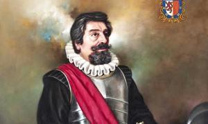 Portrait of Juan Ponce de León.