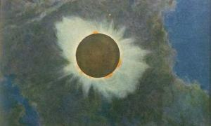 Total eclipse of the Sun, June 8, 1918, Howard Russell Butler