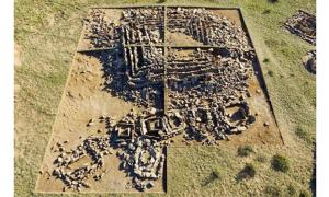 Archaeologists Uncover a Prehistoric Step Pyramid in the Steppes of Kazakhstan