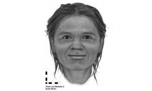 The archaeologists used a different method that incorporates facial data from around the world instead of data with a heavily European influence in creating the image of the woman from the Tham Lod rockshelter.