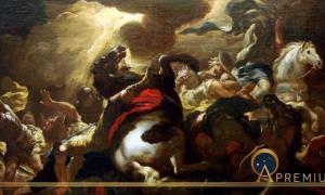 La conversion de Saint Paul by Luca Giordano (1690), Museum of Fine Arts of Nancy. (Public Domain)