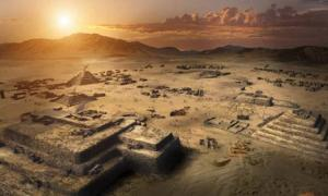 The 5,000-year-old Pyramid City of Caral