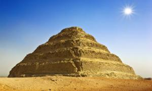 The Step Pyramid of King Djoser, does it include a path to the afterlife? Source: WitR / Adobe Stock.