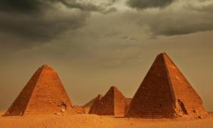 Pyramids of Meroë - Sudan