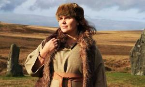Representation of a Bronze Age woman in Dartmoor.