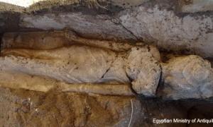 Rare Egyptian princess statue found guarding a Luxor temple