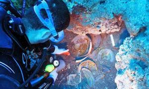 Researchers Surprised by Rich and Rare Roman Plate Set Found Underwater in Turkey