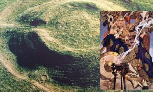 The Rathcroghan mound