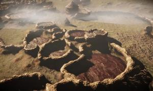 Lost Ancient Tswana City called Kweneng near Johannesburg.