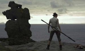 YouTube Screenshot, Star Wars Trailer.