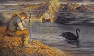 Lemminkäinen and the black swan.