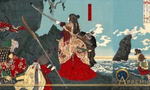 Empress Jingu In Korea (Public Domain)