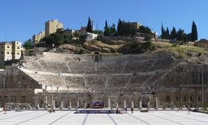 The Roman Theatre, Amman, Jordan