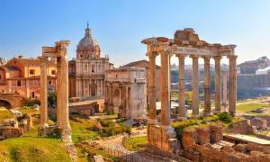 The Forum, Roman ruins      Source: sborisov / Adobe Stock