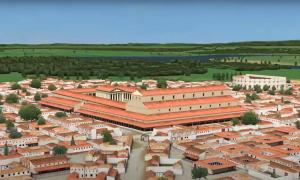 Artist's reconstruction of Lutetia by Dassault Systemes (YouTube screenshot)