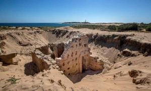The latest Roman baths in Spain emerge from the sand dunes of Cape Trafalgar.