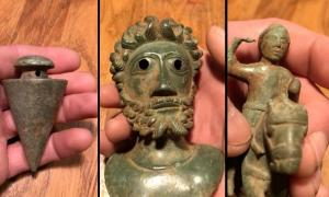 Ryedale Roman Bronze Artifacts Found By Detectorists Head for Auction