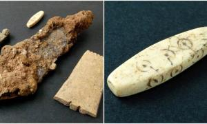 Some of the finds from the Northgate construction site, Chester, near the site of an important Roman legion camp.     Source: Oxford Archaeology