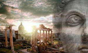 Did Romulus, the legendary first king of Rome, (neurobite /Adobe Stock) really exist? (samott /Adobe Stock)