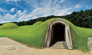 Royal tombs in Neungsan-ri