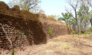 The ruins of Loropeni, a market town in southern Burkina Faso, lying west of Gaoua