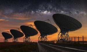 SETI telescope