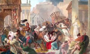 : Sacking of Rome by the Vandals dramatically changed the diet of Portus inhabitants