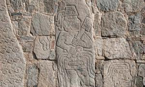 Sacrifice carvings at Cerro Sechin.