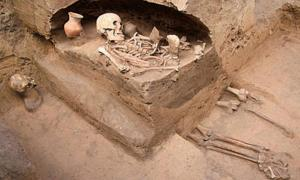 Sacrificed humans found in ancient Chinese tombs from the Qijia Culture