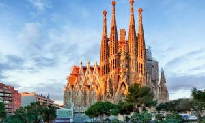 Gaudi's Sagrada Familia, Spain