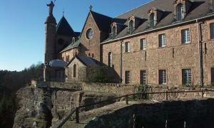 The Secret Tunnels and Missing Manuscripts of Mont Sainte-Odile Abbey