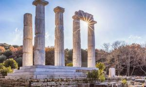 Temple at Samothrace, Greece         Source: Evgeni Dinev / Adobe Stock