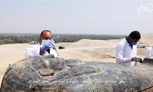 Treasure Trove of Discoveries Unearthed in Egypt's Saqqara Necropolis