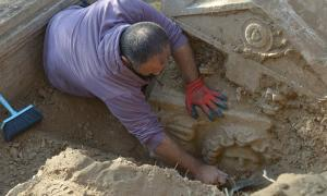 Surveillance of Looters Leads to Discovery of Sarcophagi in Turkey