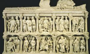 The sarcophagus of Junius Bassus.
