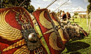 The remains of the Roman marching camp were uncovered during building work. Source: GUARD Archaeology Ltd / Fair Use.
