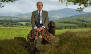 John Michael Baillie-Hamilton Buchanan, the new Chief of Clan Buchanan.