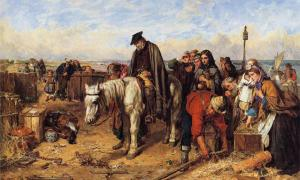 The Last of the Clan' (1865) by Thomas Faed. Attempts for a Scottish colony in Panama were futile. Source: Public Domain