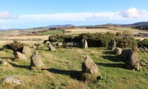 Stone circle in Leochel-Cushnie revealed to be a modern replica.