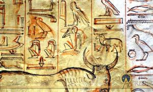 We can understand the progression of decoration in an ancient Egyptian tomb by analyzing the images present in KV57, the tomb of King Horemheb - the last pharaoh of the 18th Dynasty - in the Valley of the Kings.