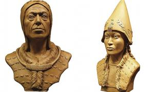 Recreating The Faces Of Two Scythian Empire Rulers With High Tech