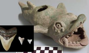 Mayan Depictions of Sea Monsters May Be First Representations of Ancient Sharks