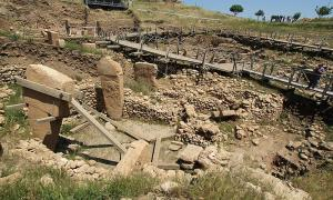 Göbekli Tepe excavation site, Turkey