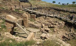 Göbekli Tepe excavation site, Turkey
