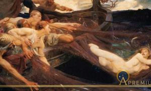 The Sea Maiden  by Herbert James Draper (1894)