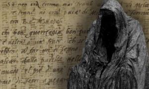 Deriv; Unidentified ancient manuscript